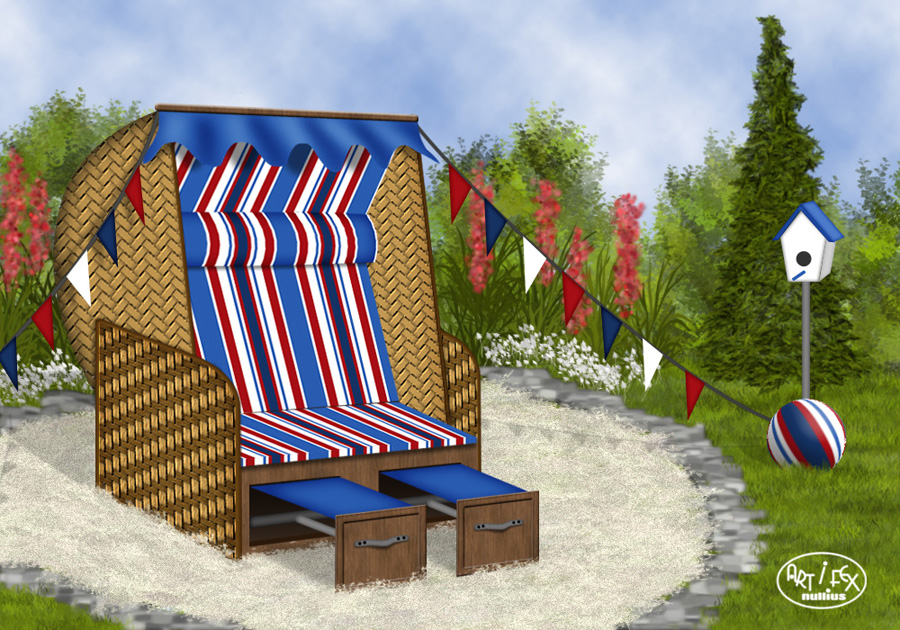 bilder strandkorb garten rugbyclubeemland. Black Bedroom Furniture Sets. Home Design Ideas
